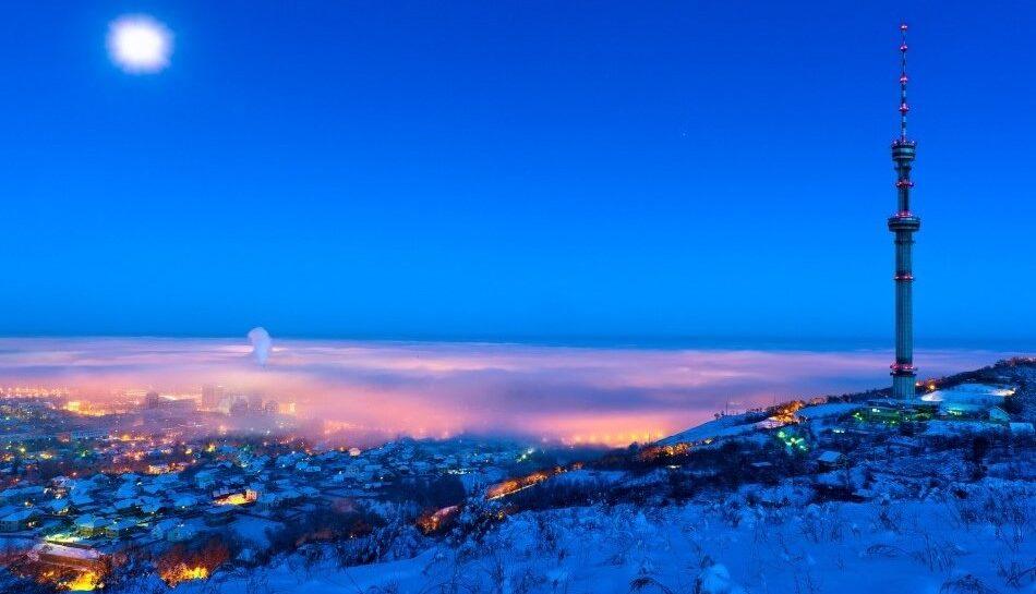 Открытие в Алмааты
